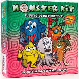 juego de mesa para niños monster kit el juego de los monstruos juego de manu sanchez montero