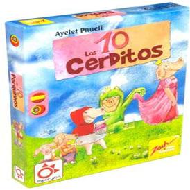 juego de mesa para niños los 10 cerditos