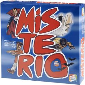 juego de mesa retro misterio
