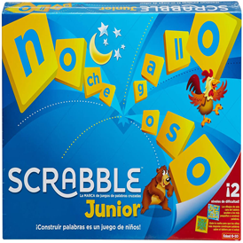 juego de caja para niños  Scrabble Junior