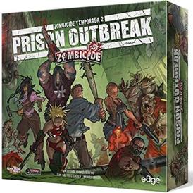 juego de caja cooperativo zombicide prison outbreak