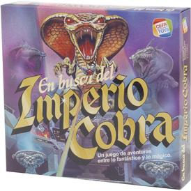 juego de mesa retro en busca del imperio cobra