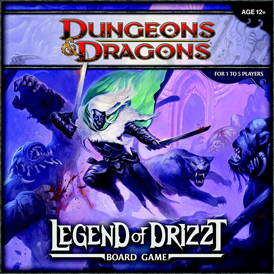 Juego de mesa de rol Dungeons & Dragons legend of drizzt