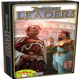 juego de mesa 7wonders leaders