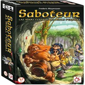 juego de mesa de rol Saboteur las minas perdidas Frederic Moyersoen