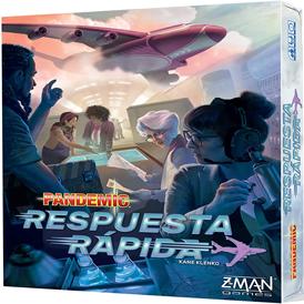juego de mesa cooperativo pandemic! respuesta rapida