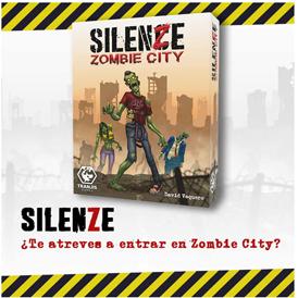 juego de mesa Silenze zombie city