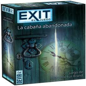 juego de mesa para adultos exit la cabaña abandonada